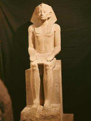 Seated Statue of Amenemhat III