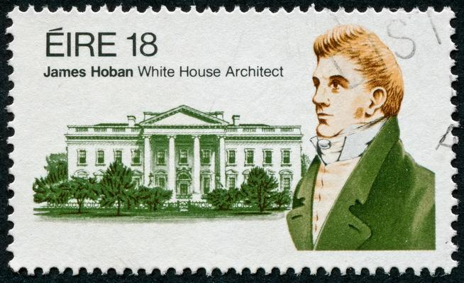James Hoban Stamp | Famous Architects