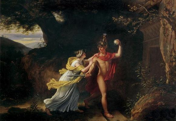 Ariadne and Theseus,