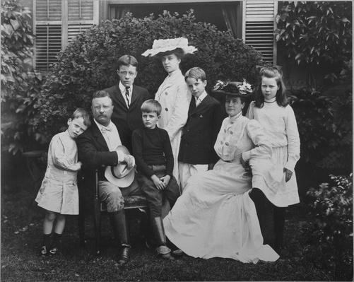 Theodore Roosevelt with His Family, 1903 | Ken Burns: The Roosevelts