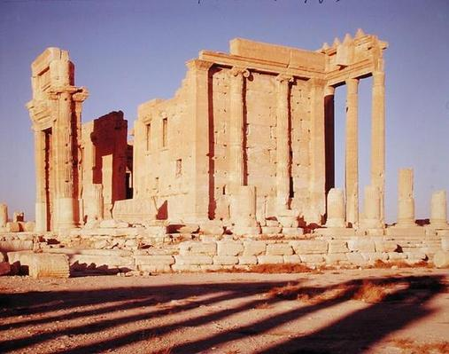 The Temple of Bel, Palmyra, 32 CE