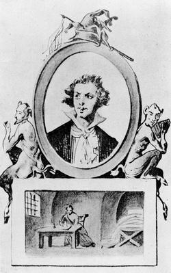 Imaginary Portrait of the Marquis de Sade
