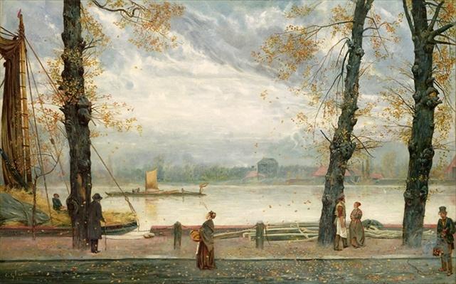 Cheyne Walk, 1870