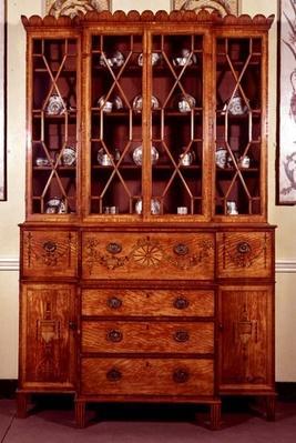 Secretaire bookcase, c.1790