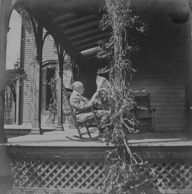FDR's Father, James, on Porch in Hyde Park | Ken Burns: The Roosevelts