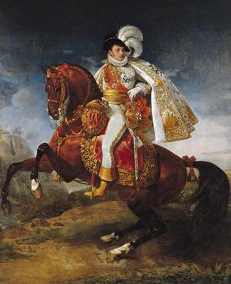 Equestrian Portrait of Jerome Bonaparte