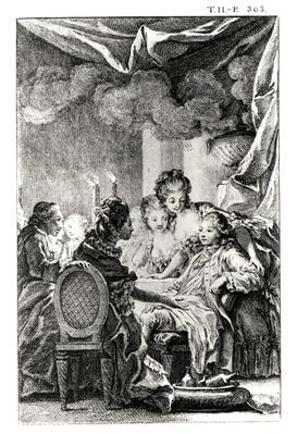 Scene from 'L'Ingenu' by Voltaire