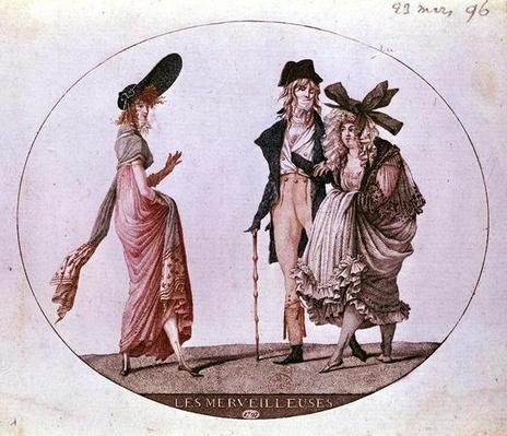 'Les Merveilleuses', 23rd March 1796
