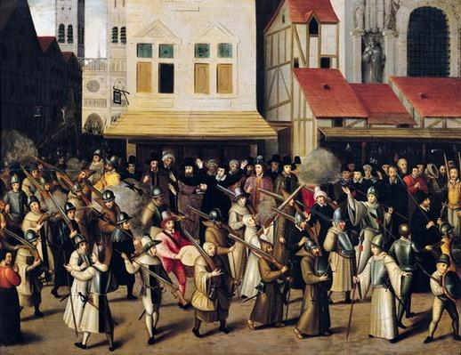 Procession of the Holy League in 1590