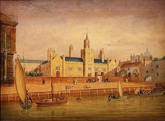 Trinity Almshouses, Greenwich c.1825