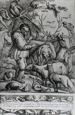 Illustration from the Introduction to Aesop's Fables, 1666
