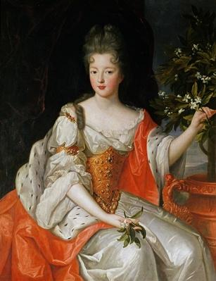 Portrait of Louise-Francoise de Bourbon
