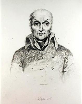Portrait of Nicolas Appert
