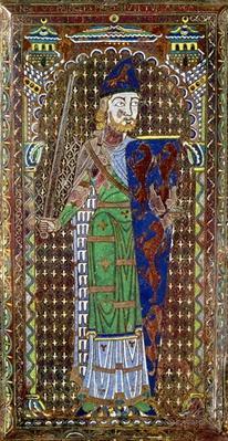 Tomb plaque of Geoffrey Plantagenet