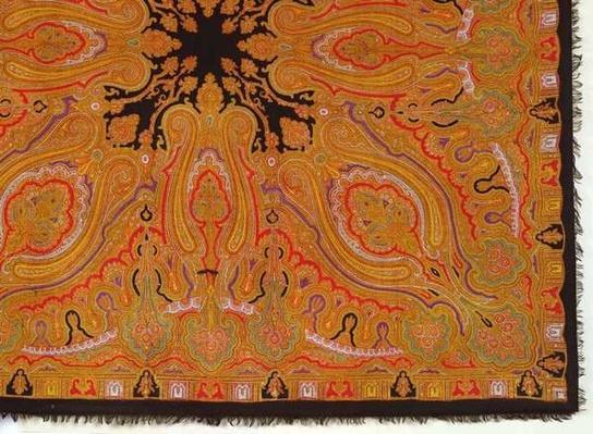 Cashmere scarf, c.1870-80