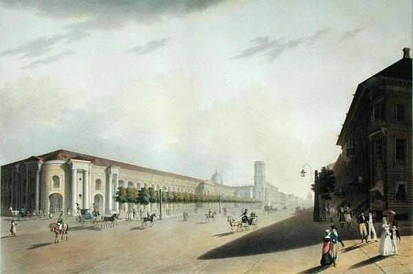 Gostiny Dvor, St. Petersburg, 1820s
