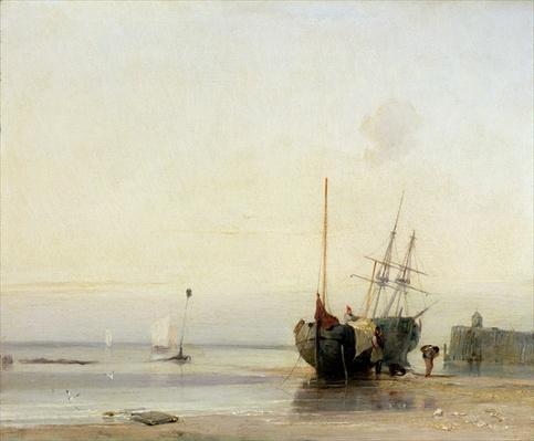 Calais Pier, c.1823-24