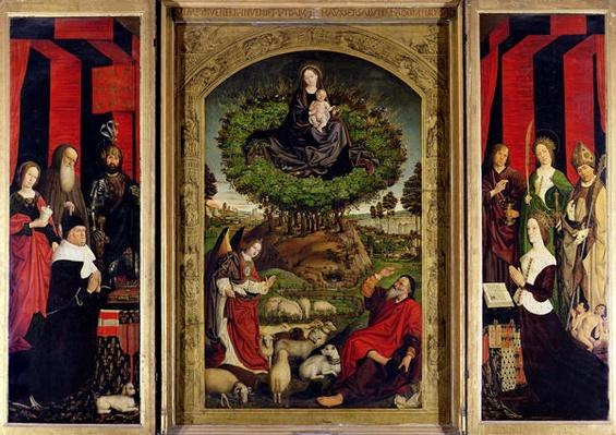 The Triptych of Moses and the Burning Bush, c.1476