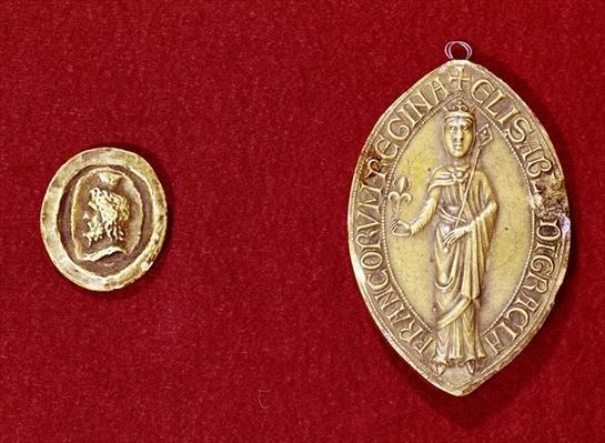 Seals belonging to Emperor Charlemagne