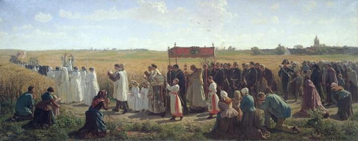 The Blessing of the Wheat in the Artois, 1857