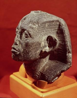 Head of Sesostris III, from Medamud near Karnak, Middle Kingdom, c.1862-43 BC