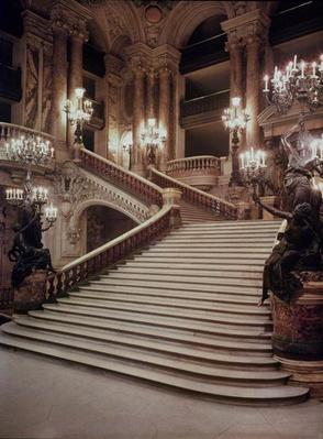 The Grand Staircase of the Opera-Garnier, 1860-75