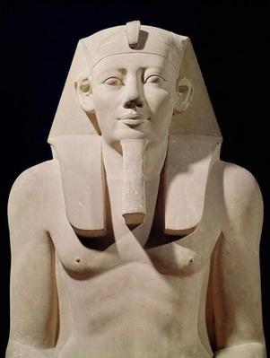 Seated statue of Sesostris I