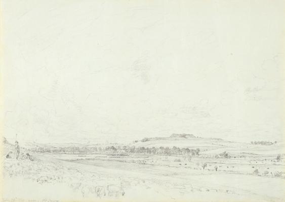 Old Sarum at Noon, 1829