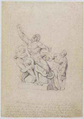 Copy of the Laocoon, for Rees's Cyclopedia, 1815