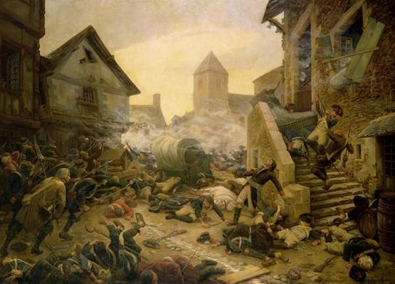 Combat at Cholet, or The Suicide of General Moulin in 1794, 1900