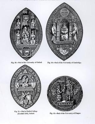 Seals of the University of Oxford