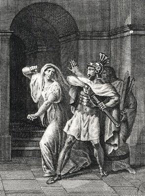 Illustration from 'Horatii' by Pierre de Corneille