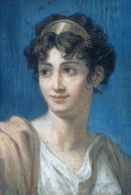 Portrait of Mademoiselle Georges