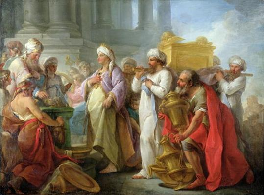 Solomon Before the Ark of the Covenant, 1747