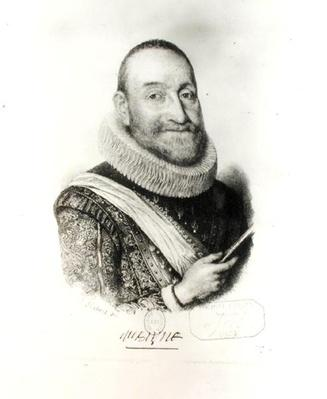 Portrait of Theodore Agrippa d'Aubigne