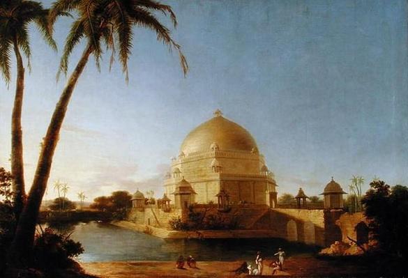 Tomb of Sher Shah, Sasaram, Bihar, c.1790