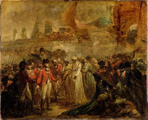 The Surrender of the Two Sons of Tipu Sahib