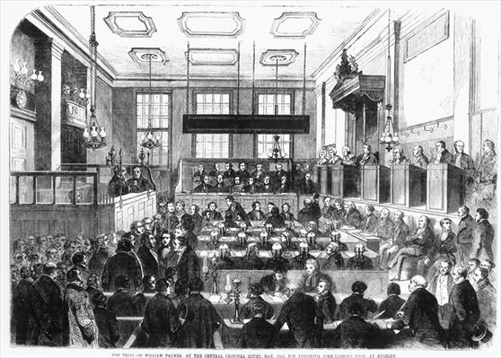 Trial of William Palmer, at the Central Criminal Court, May 1856, for Poisoning John Parsons Cook, at Rugeley