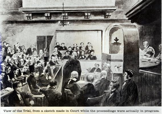 Trial of Madeleine Smith, 1857