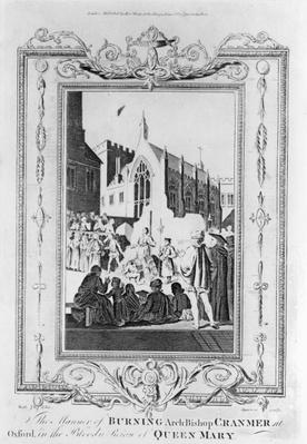 The Burning of Archbishop Thomas Cranmer