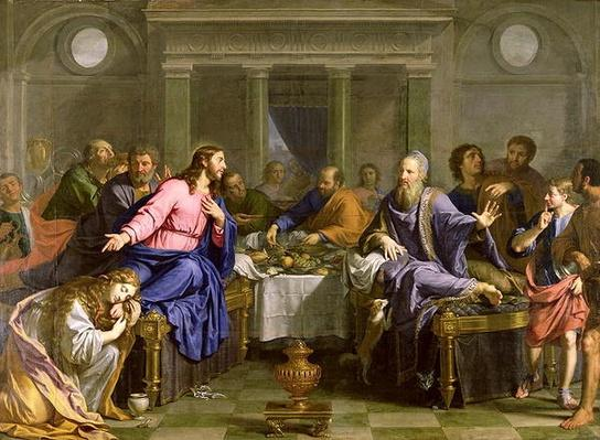 Christ in the House of Simon the Pharisee, c.1656