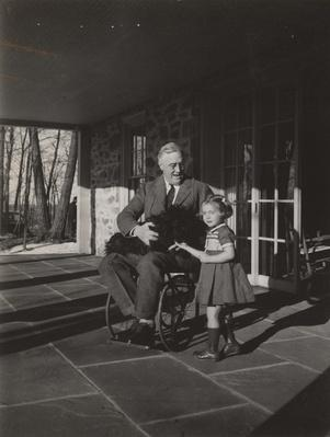 Franklin D. Roosevelt in His Wheelchair, 1941 | Ken Burns: The Roosevelts