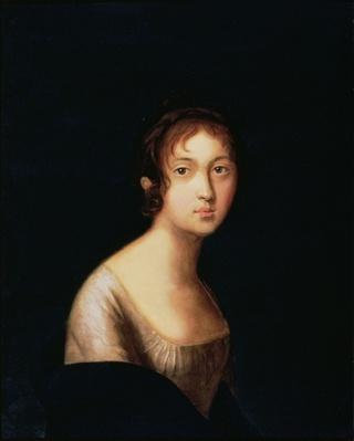 Portrait of Natalia Goncharova, 1820s