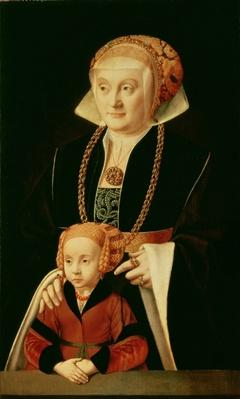 Portrait of a Woman with her Daughter