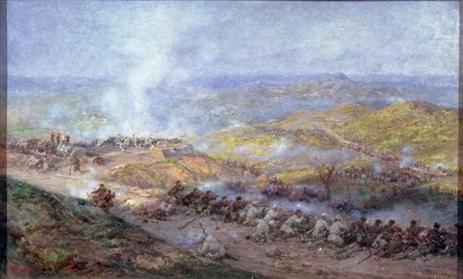 A Scene from the Russo-Turkish War in 1877-78, 1884