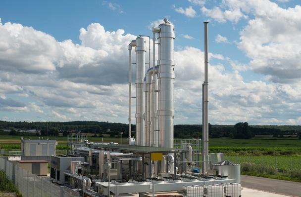 Detail of a Modern Biomass Plant, Germany | Earth's Resources