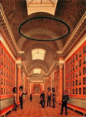 The War Gallery of the Winter Palace in St. Petersburg, c.1830s