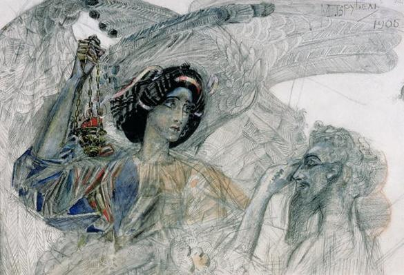 The Six Winged Seraph, from 'The Prophet', by Alexander Pushkin