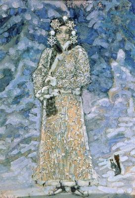 The Snow Maiden, a sketch for the Opera by Nikolai Rimsky-Korsakov