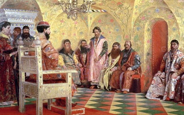 Tsar Mikhail Fyodorovich